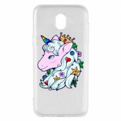 Чохол для Samsung J5 2017 Unicorn Princess