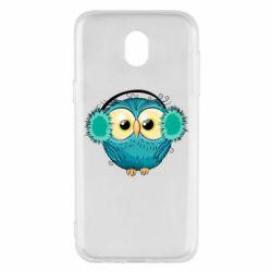 Чехол для Samsung J5 2017 Winter owl