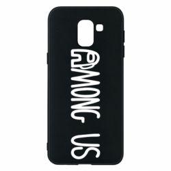 Чохол для Samsung J6 Among Us Logo