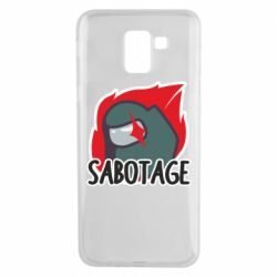 Чохол для Samsung J6 Among Us Sabotage