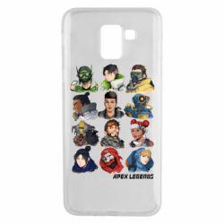 Чохол для Samsung J6 Apex legends heroes