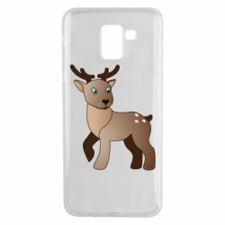 Чехол для Samsung J6 Cartoon deer