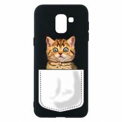 Чехол для Samsung J6 Cat in your pocket