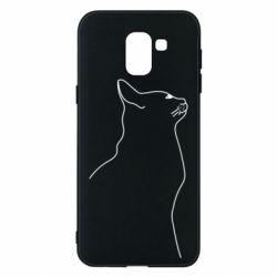 Чохол для Samsung J6 Cat line