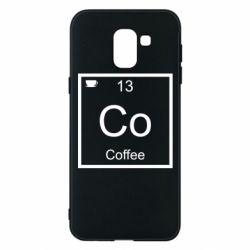 Чохол для Samsung J6 Co coffee