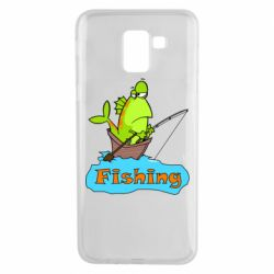 Чехол для Samsung J6 Fish Fishing