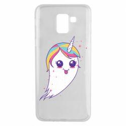 Чохол для Samsung J6 Ghost Unicorn