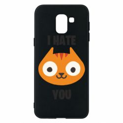 Чохол для Samsung J6 I hate you