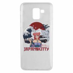 Чохол для Samsung J6 Japan Kitty