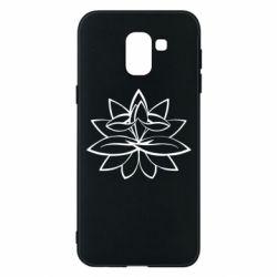 Чохол для Samsung J6 Lotus yoga