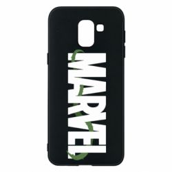 Чехол для Samsung J6 Marvel logo and vine
