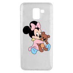 Чохол для Samsung J6 Minnie And Bear