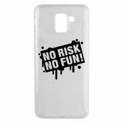 Чохол для Samsung J6 No Risk No Fun