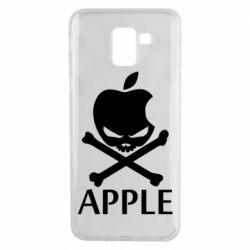 Чехол для Samsung J6 Pirate Apple
