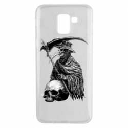 Чехол для Samsung J6 Plague Doctor graphic arts