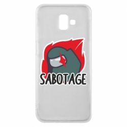 Чохол для Samsung J6 Plus 2018 Among Us Sabotage