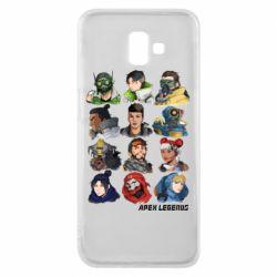 Чохол для Samsung J6 Plus 2018 Apex legends heroes