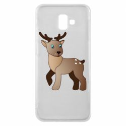 Чехол для Samsung J6 Plus 2018 Cartoon deer