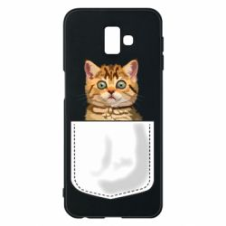 Чехол для Samsung J6 Plus 2018 Cat in your pocket