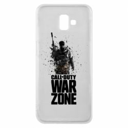 Чехол для Samsung J6 Plus 2018 COD Warzone Splash