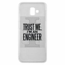 Чохол для Samsung J6 Plus 2018 Довірся мені я інженер