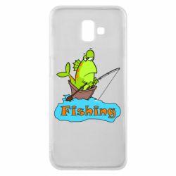 Чехол для Samsung J6 Plus 2018 Fish Fishing
