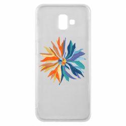 Чохол для Samsung J6 Plus 2018 Flower coat of arms of Ukraine