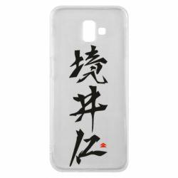 Чохол для Samsung J6 Plus 2018 Ghost Of Tsushima Hieroglyphs