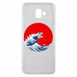 Чохол для Samsung J6 Plus 2018 Godzilla Wave