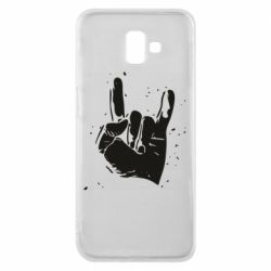 Чехол для Samsung J6 Plus 2018 HEAVY METAL ROCK
