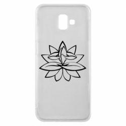 Чохол для Samsung J6 Plus 2018 Lotus yoga