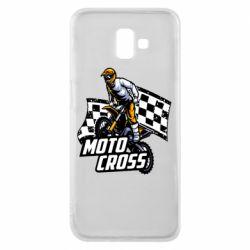 Чехол для Samsung J6 Plus 2018 Motocross
