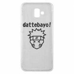 Чохол для Samsung J6 Plus 2018 Naruto dattebayo!