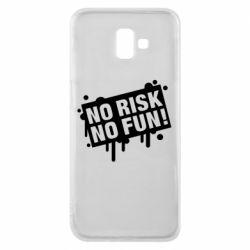 Чохол для Samsung J6 Plus 2018 No Risk No Fun