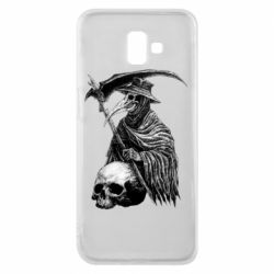 Чехол для Samsung J6 Plus 2018 Plague Doctor graphic arts