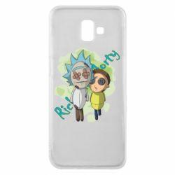 Чохол для Samsung J6 Plus 2018 Rick and Morty voodoo doll