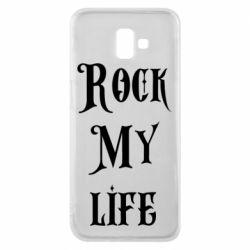 Чехол для Samsung J6 Plus 2018 Rock my life