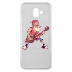 Чохол для Samsung J6 Plus 2018 Rock'n'roll Santa