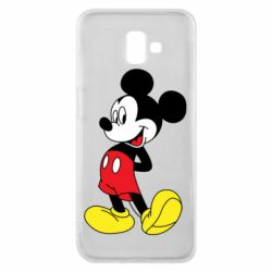 Чехол для Samsung J6 Plus 2018 Smiling Mickey