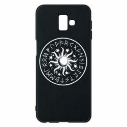 Чохол для Samsung J6 Plus 2018 Sun in runes