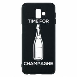 Чохол для Samsung J6 Plus 2018 Time for champagne