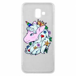 Чохол для Samsung J6 Plus 2018 Unicorn Princess