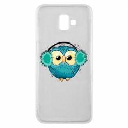 Чехол для Samsung J6 Plus 2018 Winter owl