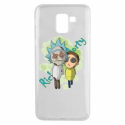 Чохол для Samsung J6 Rick and Morty voodoo doll