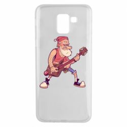 Чохол для Samsung J6 Rock'n'roll Santa