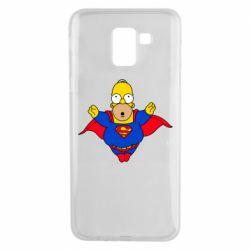 Чехол для Samsung J6 Simpson superman