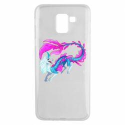 Чохол для Samsung J6 Sisu Water Dragon