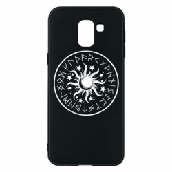Чохол для Samsung J6 Sun in runes