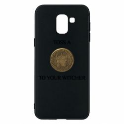 Чохол для Samsung J6 Toss a coin to your witcher ( орен )