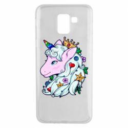 Чохол для Samsung J6 Unicorn Princess